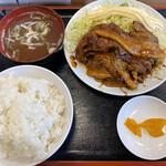 朱華飯店 - 焼肉定食 850円税別 美味しくてボリュームも凄い!