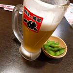 Izakayaikkyuu - 生ビール 190円