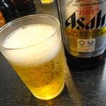 雲龍亭 - ビール