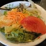 ケーツーカレーハウス - 野菜サラダ