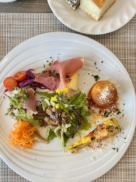 アルフォルトゥーナ - 前菜5種盛り合わせ