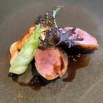デギスタシオン - 鴨肉のロースト