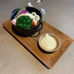 デギスタシオン - 蒸し有機栽培野菜