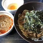 足立製麺所 - 料理写真:冷し肉そば850円税込