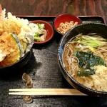 いいづか・出雲そば - 料理写真:八重垣定食