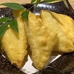 笑う門 - チーズの天ぷら