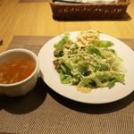 マヌカ - サラダ、スープ