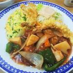 龍華 - 料理写真:酢豚セット