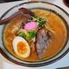 Dairokuramenrokugoushayori - 料理写真:辛塩ハーフ 800円