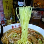 あたみ食堂 - 麺リフト