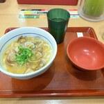 なか卯 - あさりうどん(並)(490円)