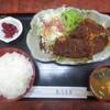 Ougitei - 料理写真:豚ロース味噌カツ定食 850円(税込)。     2020.03.12