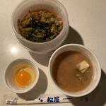 松屋 - がりたま牛めし並 豚汁セット530円税込み