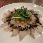 北の国バル - 鮮魚のカルパッチョ 980円