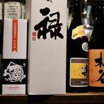 炙りもんと蕎麦 満月 - 日本酒いろいろ