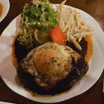 バイキング - ハンバーグステーキ 1,000円