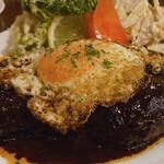 バイキング - メチャクチャ美味しいハンバーグステーキ