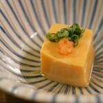 山翠 - あんこう肝豆腐
