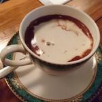 カフェ ド ギャルソン - ミントココア