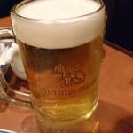 127443045 - 生のシンハービール