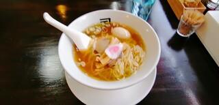 煮干らー麺 カネショウ - 味玉らー麺 890円