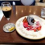 127450422 - ジャンドゥーヤ皿盛り&カフェ・シェカラート