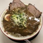ラーメン麺雅 - ガチ煮干し(中)