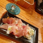 Cafe BAR カラス - 生ハムとポテサラ