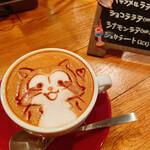Cafe BAR カラス - カフェラテ