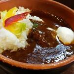 ラパスカレー - 料理写真:ロコモコ丼カレー。