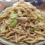 塩山館食堂 - 炒麺