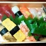いなせ寿司 - 料理写真:いなせ寿司@六ツ川店 特製にぎり(1150円)