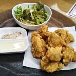 昇福門 - 鶏の唐揚げ(3500円飲み放題付きコース)