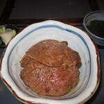 127467863 - 私はランプ肉のステーキ丼
