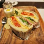 レストラン セリーナ - サンドイッチ