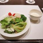 レストラン セリーナ - サラダ、ドレッシング
