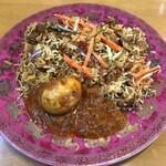インディアン・レストラン ロタ - 海老ビリヤニ、たまごマライカレー