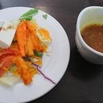 127473757 - サラダとスープ