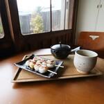 さくら日和 - 料理写真:お団子セット