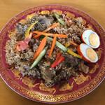 インディアン・レストラン ロタ - ビーフテハリ(たまご付き♪)