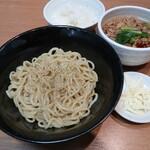 今里わっしょい - 料理写真:情熱トマトつけ麺!セニョリ~タ 150g 2杯目