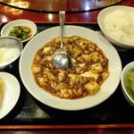 敦煌 - 定食の「敦煌マーボー豆腐(重慶風)」\750
