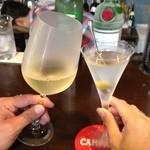 オーピンク - ワインも中甘くらいでパスタに合いますよ。