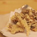 浅野屋 - 料理写真:産直舞茸の天ぷら
