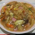 リンガーハット - 太めん皿うどん(大盛)