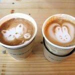 ブルースカイコーヒー - カプチーノ♪