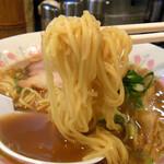のりや食堂 - 「幸住食品」のストレート中細麺