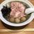 木更津 丿貫 - 料理写真:極濃煮干蕎麦+うずら味玉+肉増し