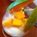 楽園の果実 - マンゴーパフェ