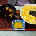 常盤 - 玉子丼700円
